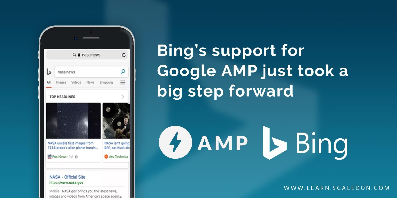 Bings support for Google AMP just took a big step forward