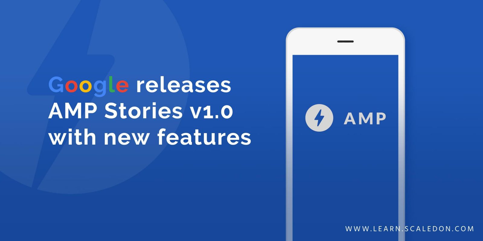 Google release AMP stories