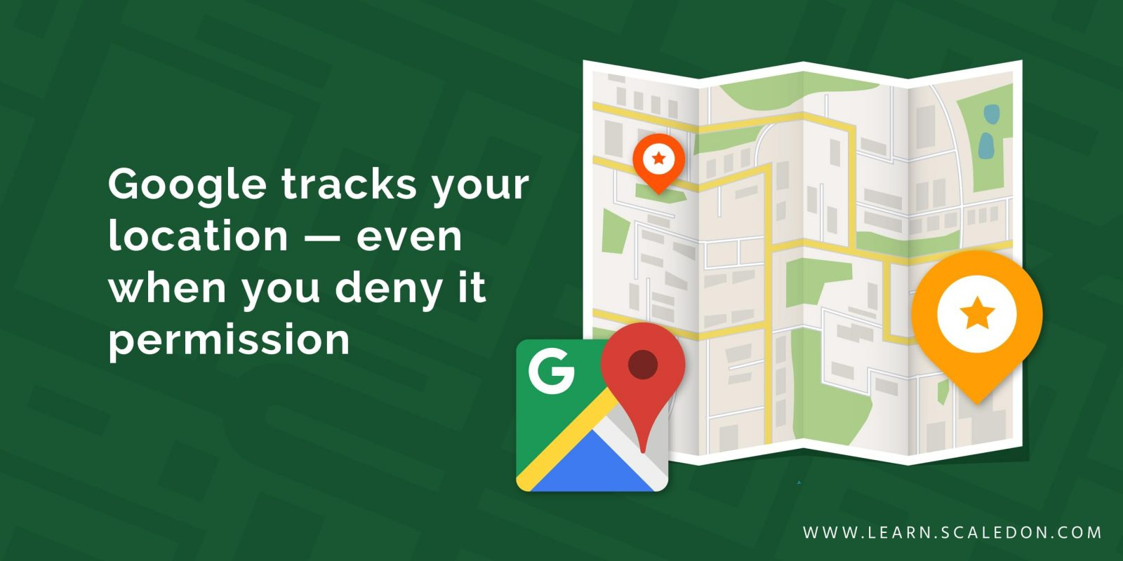 Google tracks your location