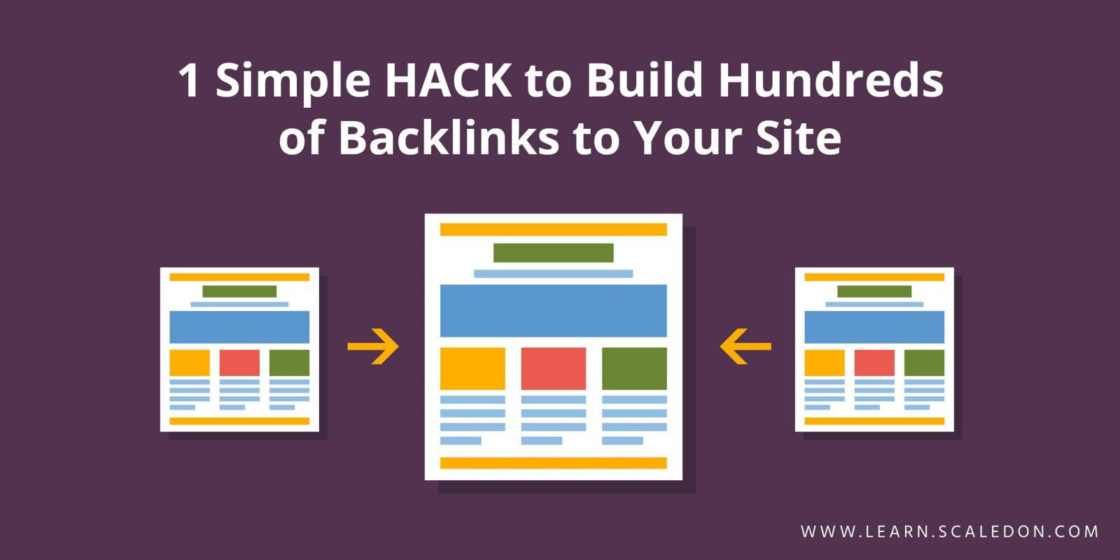 1 Simple HACK to Build Hundreds of Backlinks to Your Site
