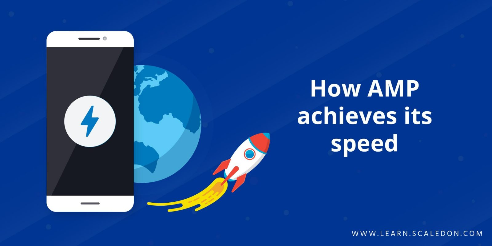 How AMP achieves its speed