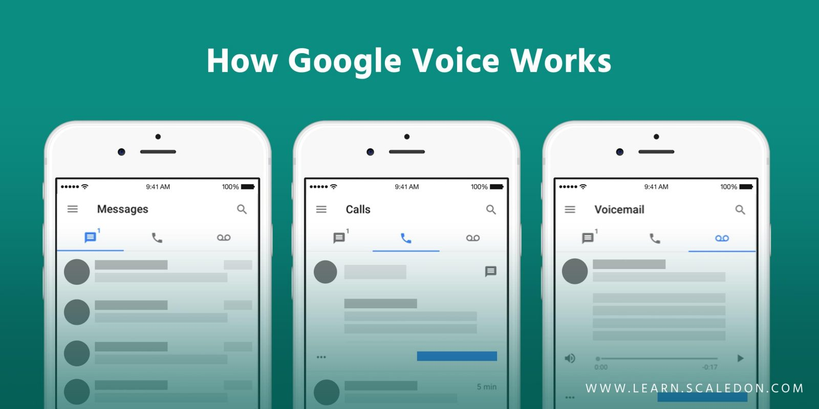 How Google Voice Works