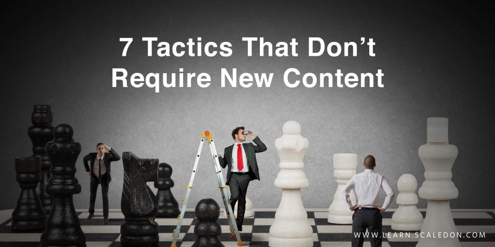 How to Get Backlinks: 7 Tactics That Don't Require New Content